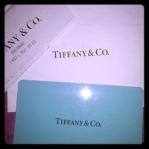 Tiffany & Co. Merchandise credit